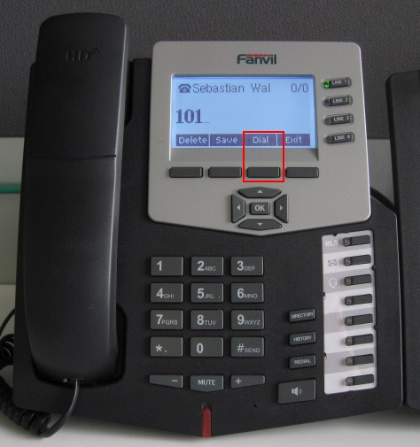 How to Make Calls Using Fanvil C62/C58