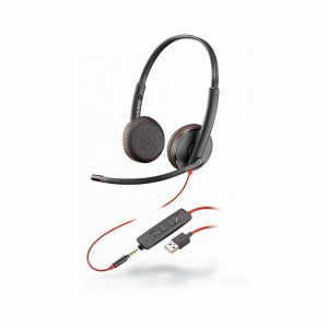Plantronic Poly Blackwire C3220 USB HEADSET