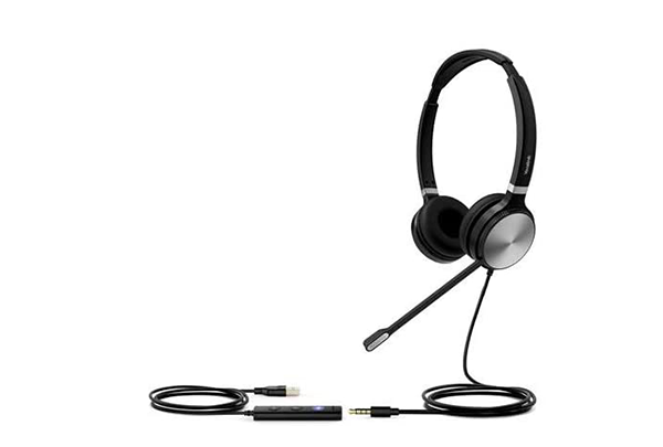YEALINK UH36-DUAL WIRED USB HEADSET (CERTIFIED FOR USE WITH MS TEAMS)